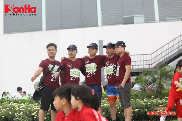 Sơn Hà Architecture tham gia chạy bộ gây quỹ học bổng GẠO (10)