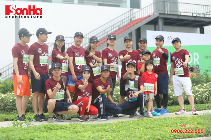 Sơn Hà Architecture tham gia chạy bộ gây quỹ học bổng GẠO (11)
