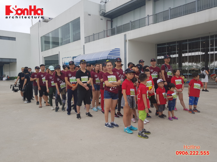 Sơn Hà Architecture tham gia chạy bộ gây quỹ học bổng GẠO (4)