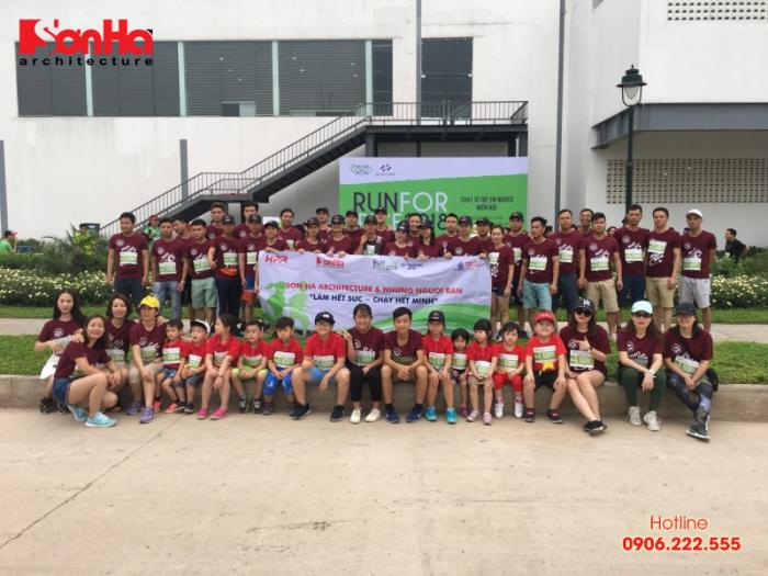 Sơn Hà Architecture tham gia chạy bộ gây quỹ học bổng GẠO (6)