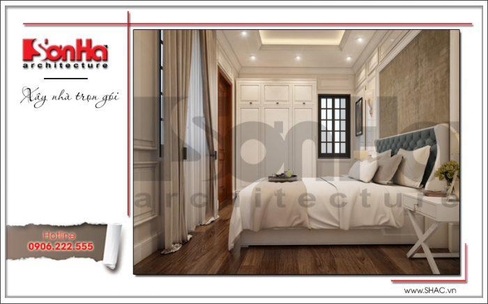 Thiết kế phòng ngủ có toilet – mẫu số 1