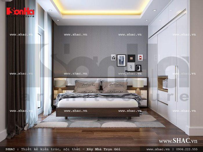 Thiết kế phòng ngủ có toilet – mẫu số 10