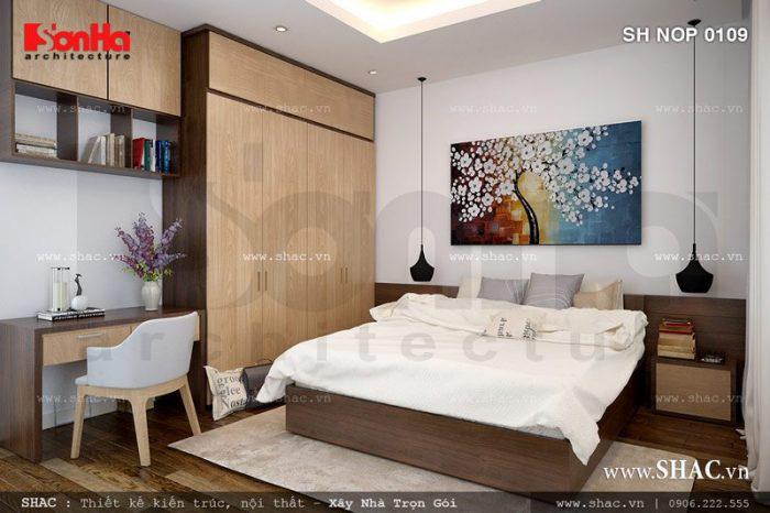 Thiết kế phòng ngủ có toilet – mẫu số 13