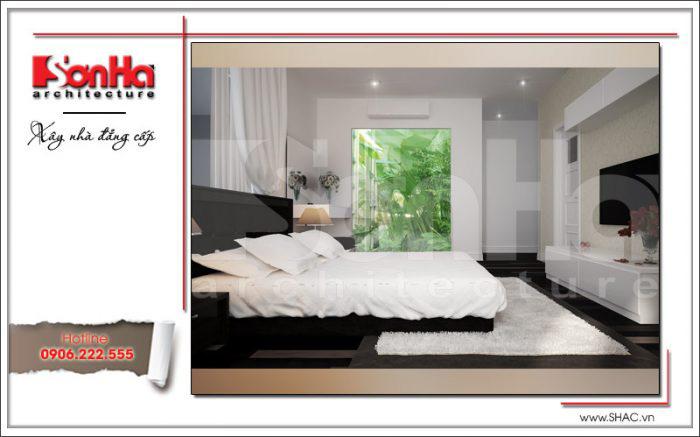 Thiết kế phòng ngủ có toilet – mẫu số 3