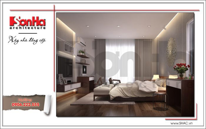 Thiết kế phòng ngủ có toilet – mẫu số 4