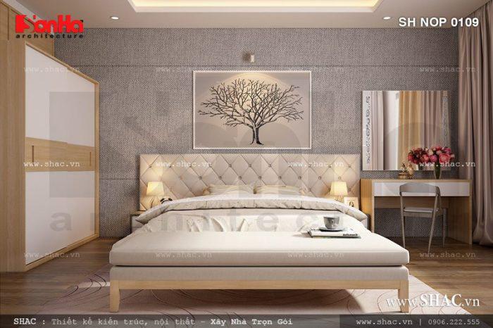 Thiết kế phòng ngủ diện tích 20m2, 25m2 và rộng hơn