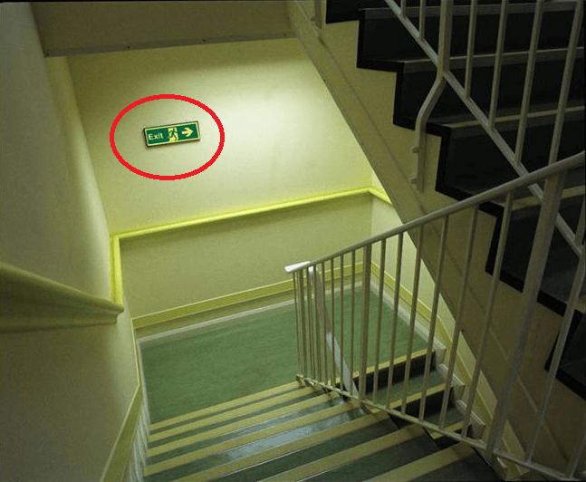 Tiêu chuẩn thiết kế thang thoát hiểm trong xây dựng