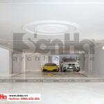 1 Thiết kế nội thất gara biệt thự tân cổ điển tại quảng ninh sh btp 0127