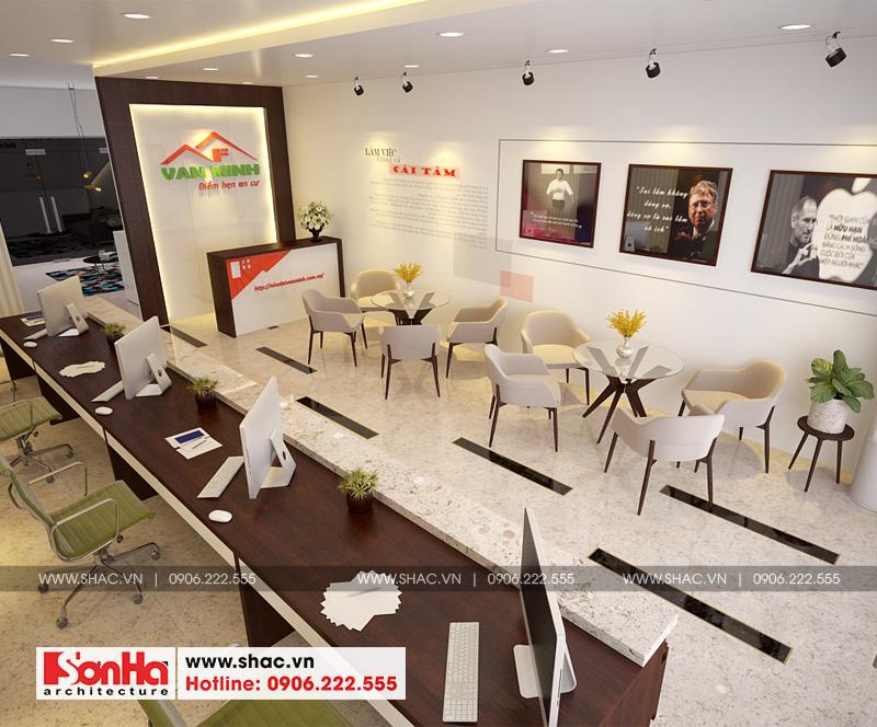 Giải pháp thiết kế nội thất văn phòng ĐẸP - SÁNG TẠO - CHUẨN PHONG THỦY của Sơn Hà Group