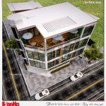 1 Thiết kế phương án 1 nhà hàng hiện đại tại bắc ninh sh bck 0050