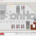 10 Mặt bằng công năng tầng hầm nhà hàng hiện đại tại bắc ninh sh bck 0050