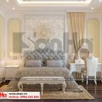 10 Mẫu nội thất phòng ngủ 4 biệt thự tân cổ điển 3 tầng tại quảng ninh sh btp 0127