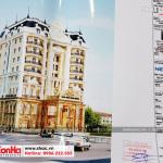11 Ảnh thực tế hồ sơ thiết kế khách sạn kiến trúc pháp đẹp tại an giang sh ks 0063
