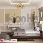 13 Thiết kế nội thất phòng ngủ 7 biệt thự tân cổ điển mái thái tại quảng ninh sh btp 0127
