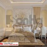 15 Thiết kế nội thất phòng ngủ 9 biệt thự tân cổ điển 3 tầng tại quảng ninh sh btp 0127