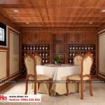 2 Mẫu nội thất hầm rượu biệt thự tân cổ điển đẹp tại quảng ninh sh btp 0127