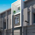 2 Mẫu thiết kế nhà phố hiện đại mặt tiền 3,5m tại hà nội sh nod 0188