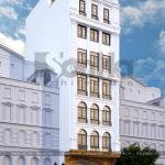 2 Mẫu thiết kế tòa nhà văn phòng 7 tầng tại quảng ninh sh vp 0035