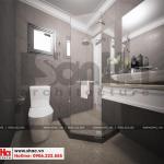21 Thiết kế nội thất phòng tắm wc biệt thự tân cổ điển tại quảng ninh sh btp 0127