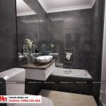 22 Mẫu nội thất phòng tắm wc biệt thự tân cổ điển đẹp tại quảng ninh sh btp 0127