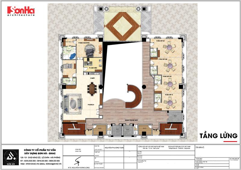 Khởi công khách sạn tân cổ điển 4 sao tại An Giang do SHAC thiết kế - SH KS 0063 6