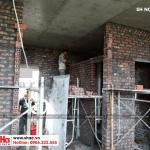4 Ảnh thi công nhà phố kiến trúc pháp tại hải phòng sh nop 0175