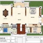 4 Mặt bằng công năng tầng 1 biệt thự tân cổ điển đẹp tại quảng ninh sh btp 0127
