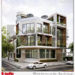 5 Thiết kế phương án 2 nhà hàng 4 tầng tại bắc ninh sh bck 0050