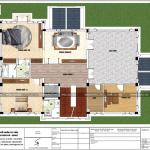 6 Mặt bằng công năng tầng 3 biệt thự mái thái đẹp tại quảng ninh sh btp 0127