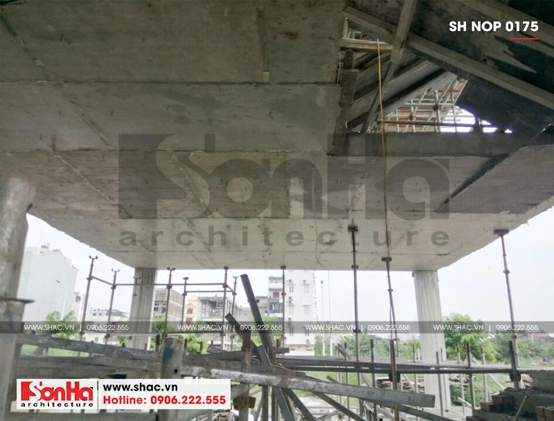 Mẫu nhà ống kiểu Pháp 3 tầng có gara ô tô tại Hải Phòng - SH NOP 0175 19