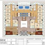 7 Mặt bằng công năng tầng 7 khách sạn phong cách châu âu tại an giang sh ks 0063