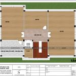 7 Mặt bằng công năng tầng áp mái biệt thự tân cổ điển 3 tầng tại quảng ninh sh btp 0127