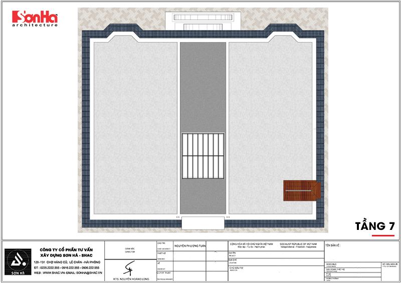 Khởi công khách sạn tân cổ điển 4 sao tại An Giang do SHAC thiết kế - SH KS 0063 11