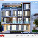 8 Thiết kế phương án 3 nhà hàng 4 tầng tại bắc ninh sh bck 0050