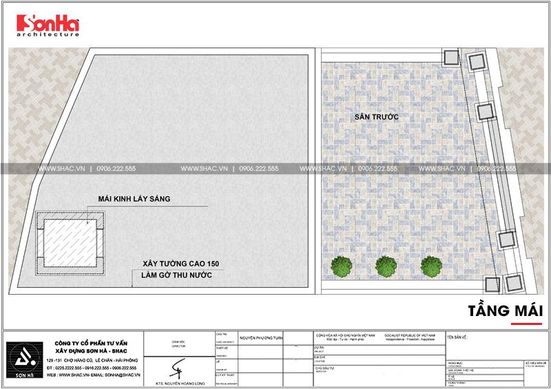 Thiết kế văn phòng cho thuê kiến trúc tân cổ điển tại Quảng Ninh - SH VP 0035 9