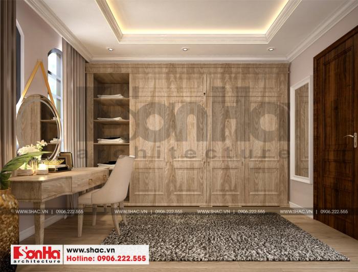Vật liệu gỗ được sử dụng nhiều trong thiết kế nội thất phòng ngủ đẹp