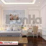 9 Thiết kế nội thất phòng ngủ 3 biệt thự tân cổ điển 2 mặt tiền tại quảng ninh sh btp 0127