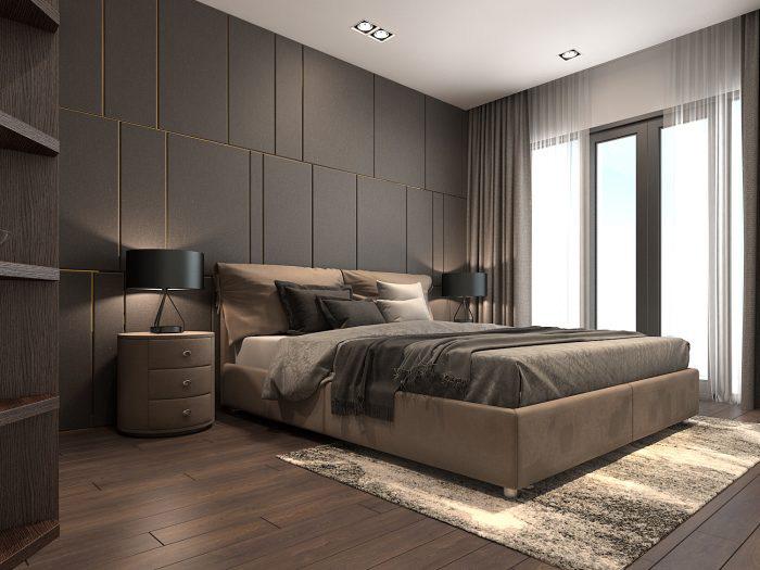 Cách sử dụng vật dụng trong thiết kế nội thất phong ngủ Vintage