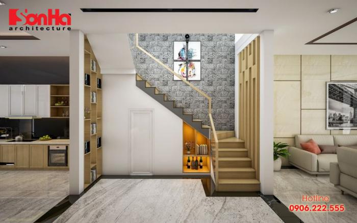 Cầu thang luôn được các kiến trúc sư cân nhắc rất kỹ và tính toán tỉ mỉ về kích thước