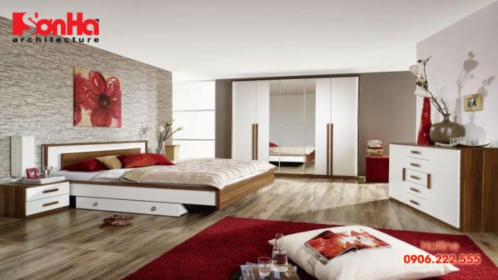 Hình dán nghệ thuật cho phòng ngủ sang trọng và trẻ trung, thể hiện cá tính