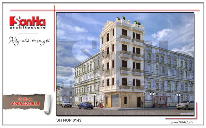 Mẫu nhà phố đẹp mặt tiền 8m là tham khảo điển hình cho các chủ đầu tư