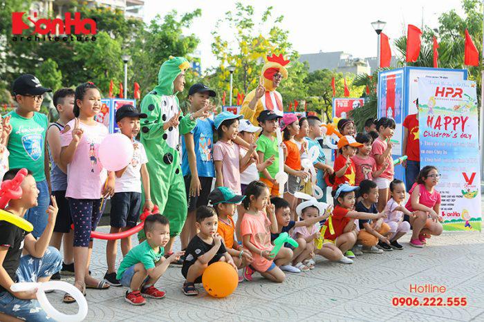 Tết thiếu nhi Sơn Hà Architecture 2018 Con khỏe, bố mẹ vui (1)