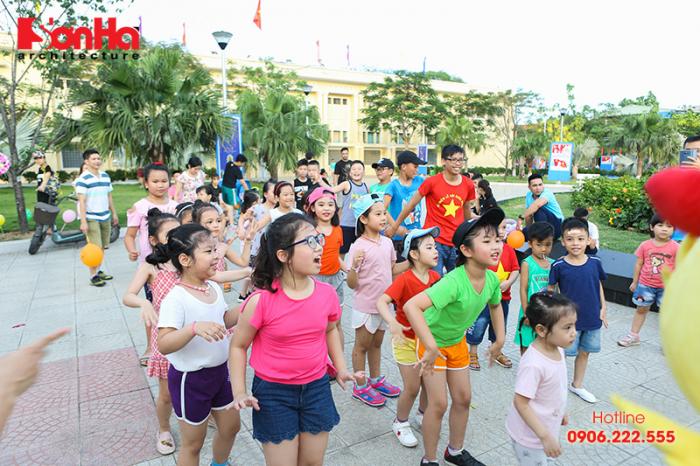 Tết thiếu nhi Sơn Hà Architecture 2018 Con khỏe, bố mẹ vui (13)
