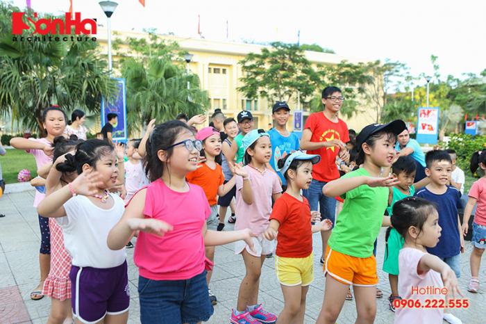 Tết thiếu nhi Sơn Hà Architecture 2018 Con khỏe, bố mẹ vui (14)