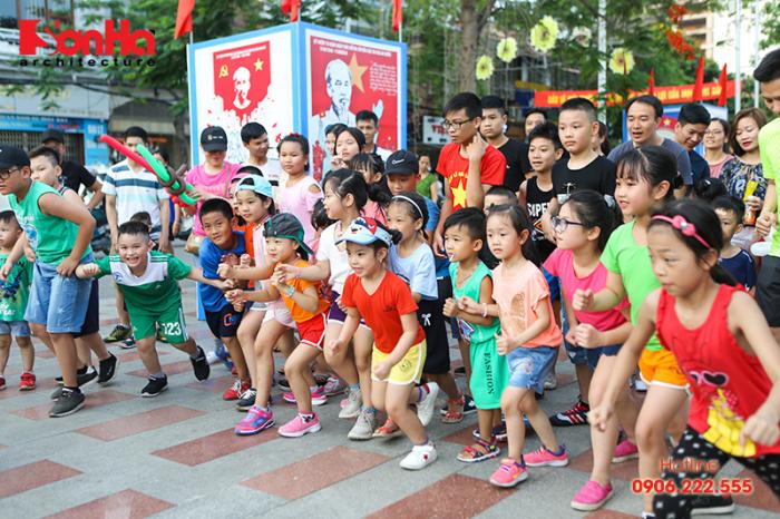 Tết thiếu nhi Sơn Hà Architecture 2018 Con khỏe, bố mẹ vui (16)