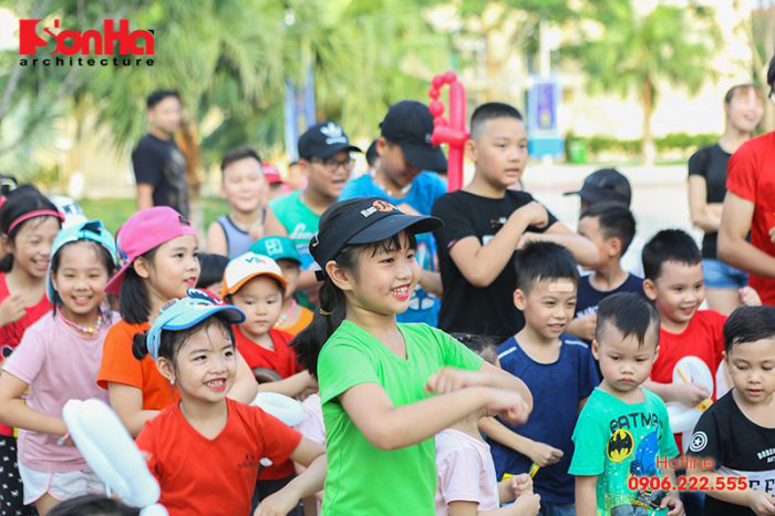 Tết thiếu nhi Sơn Hà Architecture 2018 Con khỏe, bố mẹ vui (2)