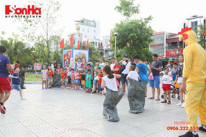 Tết thiếu nhi Sơn Hà Architecture 2018 Con khỏe, bố mẹ vui (3)