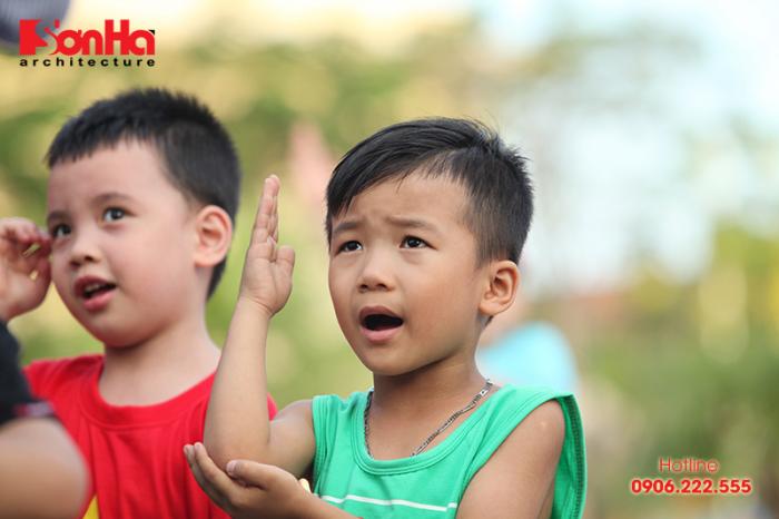 Tết thiếu nhi Sơn Hà Architecture 2018 Con khỏe, bố mẹ vui (35)