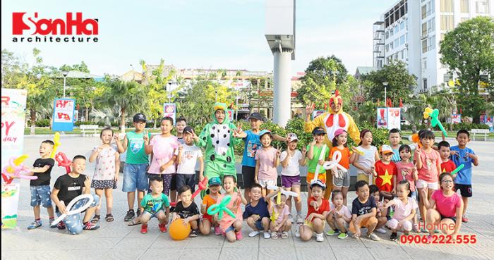 Tết thiếu nhi Sơn Hà Architecture 2018 Con khỏe, bố mẹ vui (5)