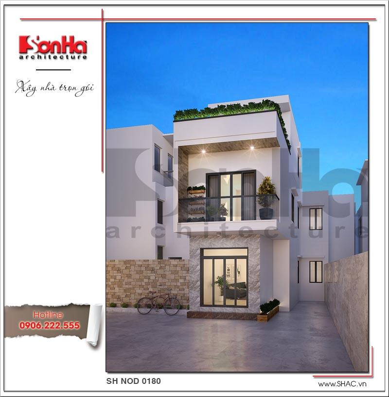 Thêm một tham khảo điển hình cho mẫu thiết kế nhà mặt tiền 8m hiện đại sang trọng